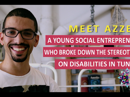 Civic tech startup supporting people with disabilities in Tunisia