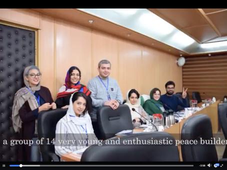 Young peacebuilders in Iran