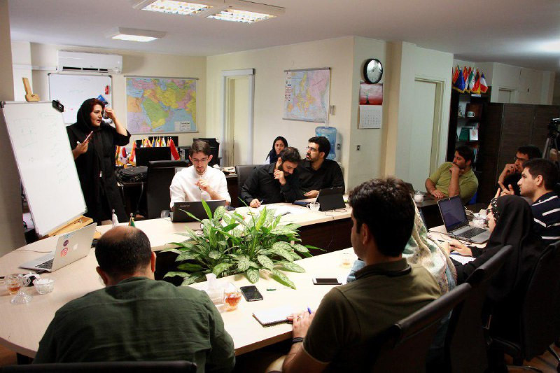 Workshop on video journalism