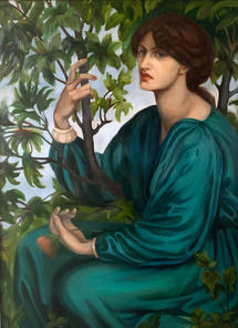Commission  After Rossetti  Oil on Canvas 101x76cm