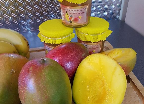 Savoureuse mangue-banane