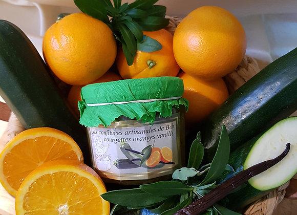 Spécialité courgette-orange-vanille