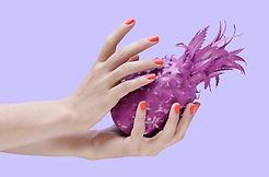 Фиолетовый ананас