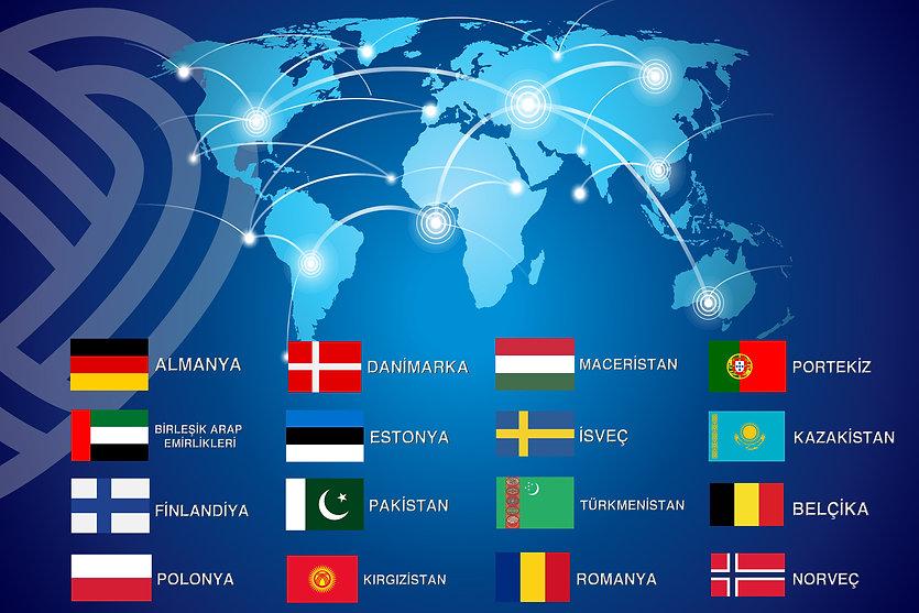 One Life Plus ihraç ülkeleri