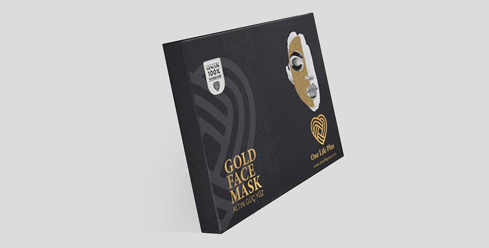 Gold Face Mask (Altın Güç Yüz) 0029