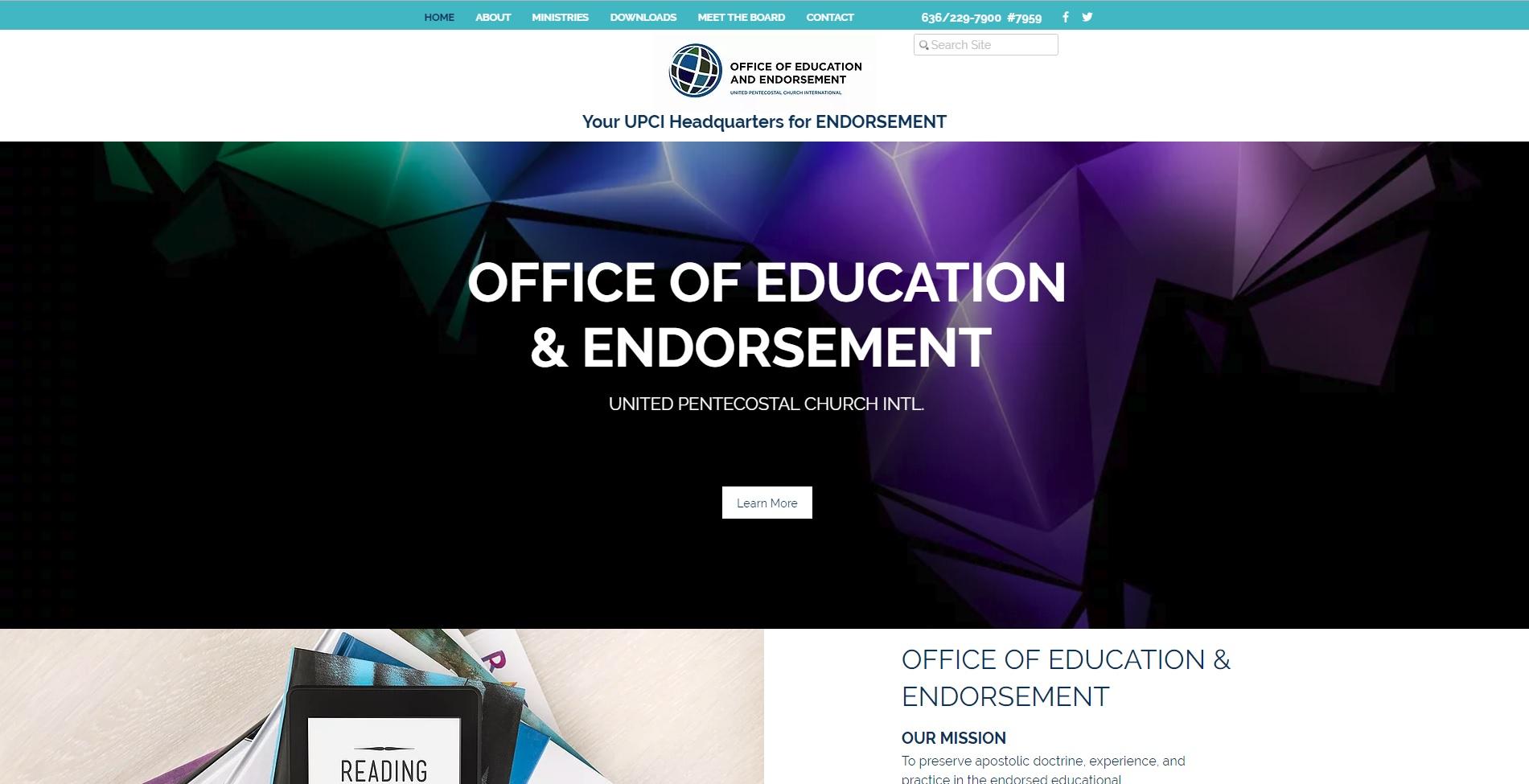 OEE Home Page Image