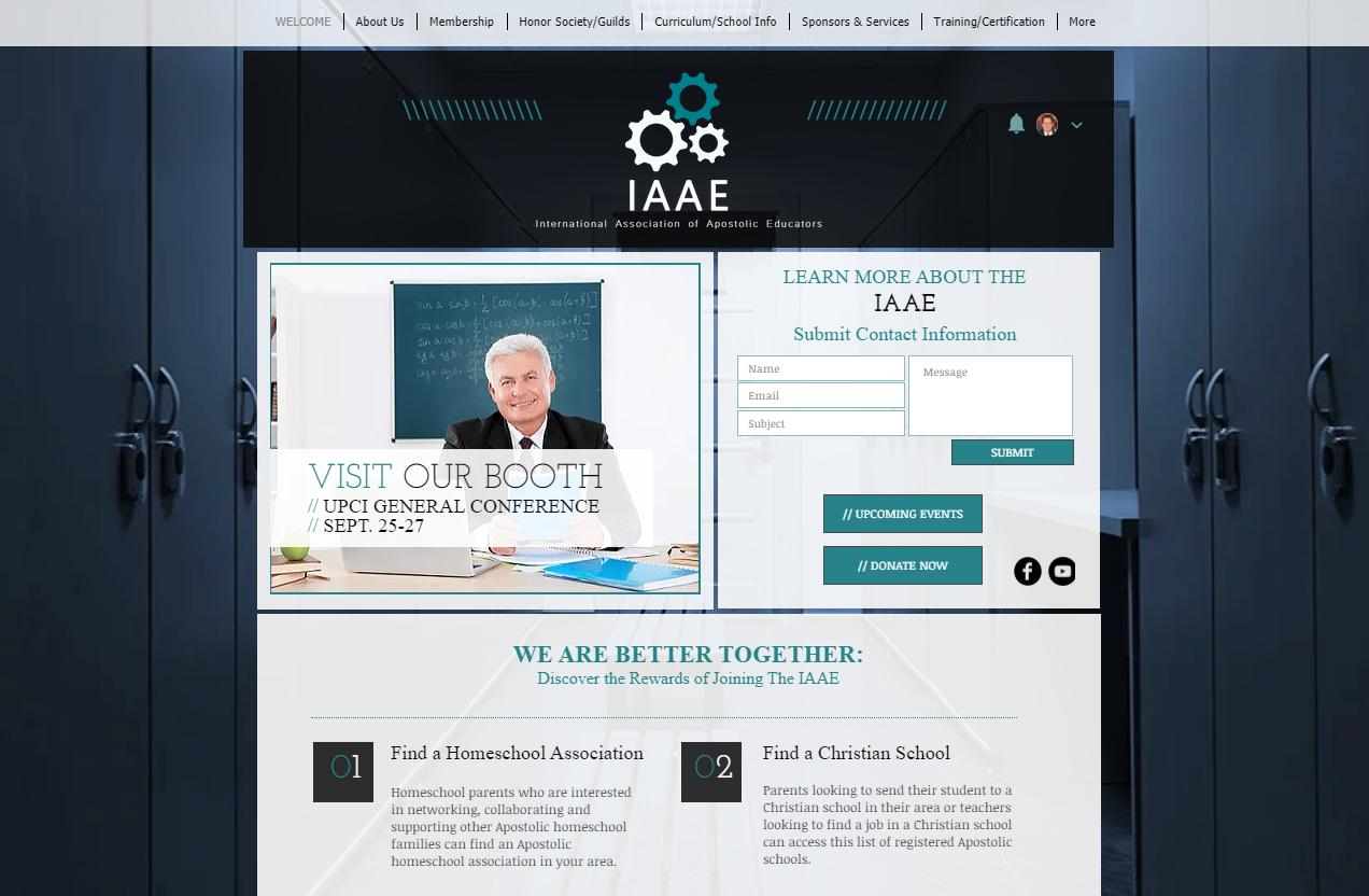 IAAE Home Image