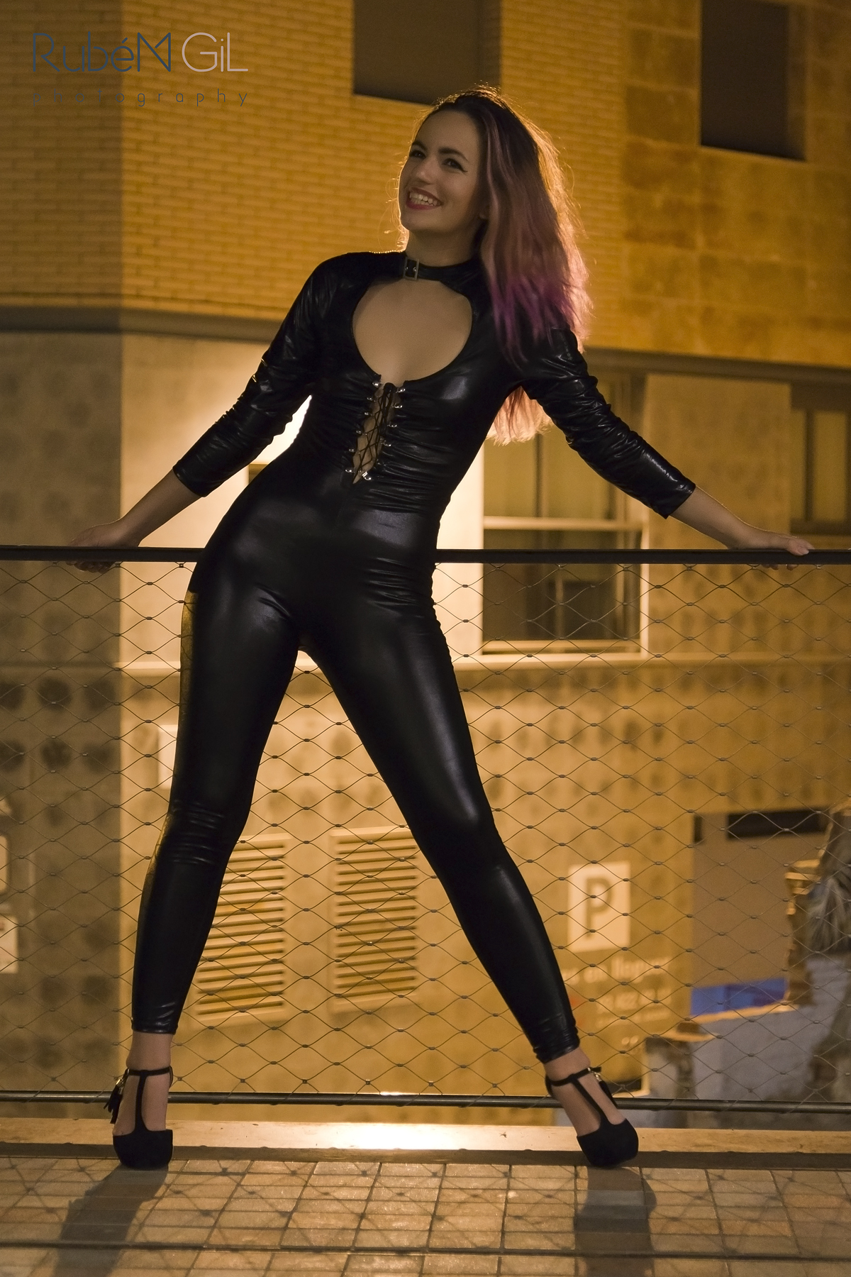 Latex woman