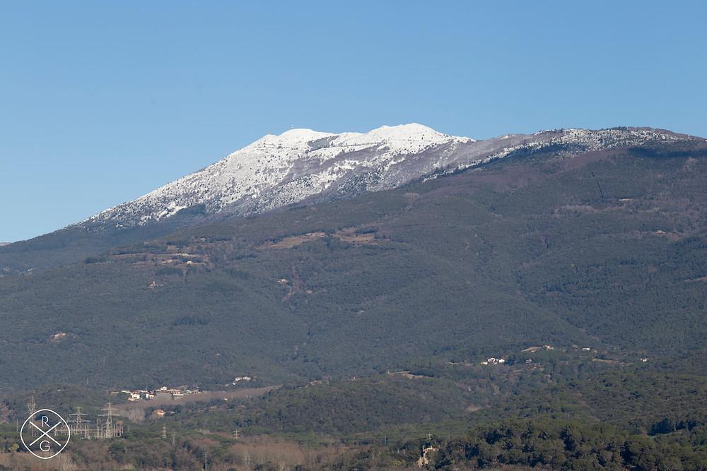 El Montseny desde Sant Celoni