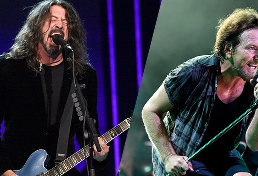 Foo Fighters e Eddie Vedder emocionam com grandes performances no Vax Live; assista