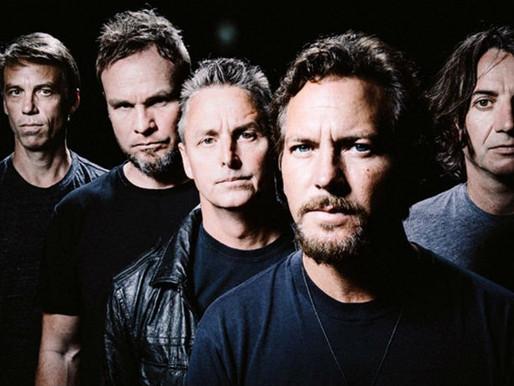 """Pearl Jam compartilha a nova música, """"Get It Back"""", em serviços de streaming; ouça"""