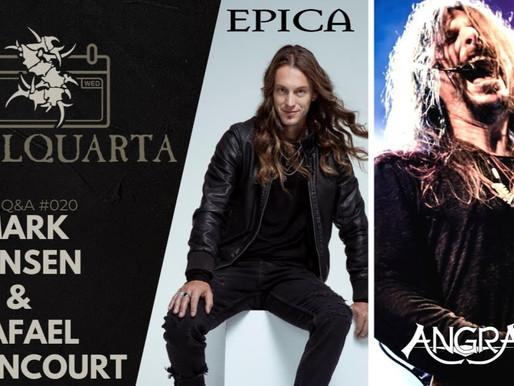 Sepultura recebe Rafael Bittencourt, do Angra, e Mark Jansen, do Epica, em live