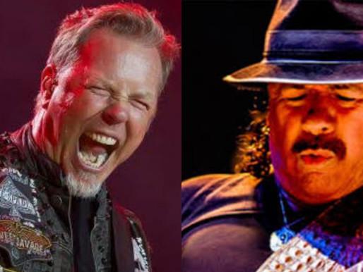 James Hetfield, Carlos Santana e mais participam de evento virtual beneficente