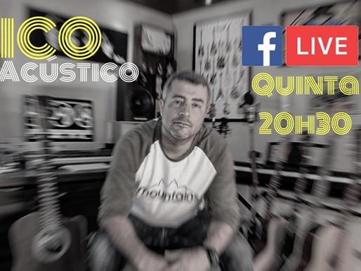 Músico gaúcho, Ico Neto, cobra couvert espontâneo para suas lives e fatura nas redes sociais.
