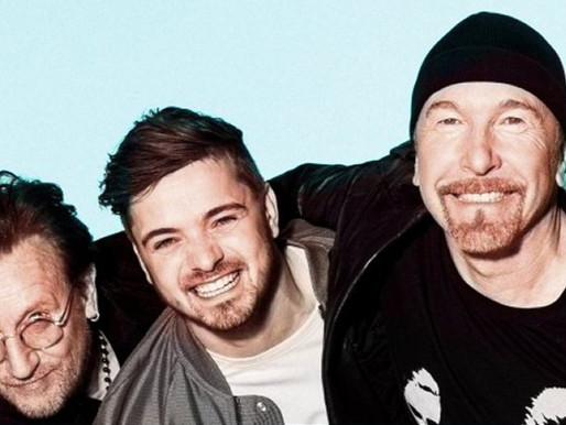 Bono Vox e The Edge, do U2, se unem ao DJ Martin Garrix em música oficial da Eurocopa; assista