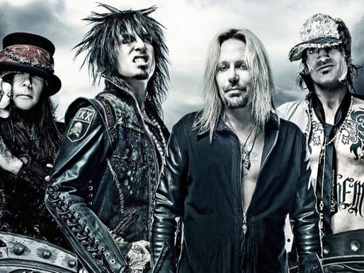 Mötley Crüe celebra 40 anos com participação dos fãs; confira