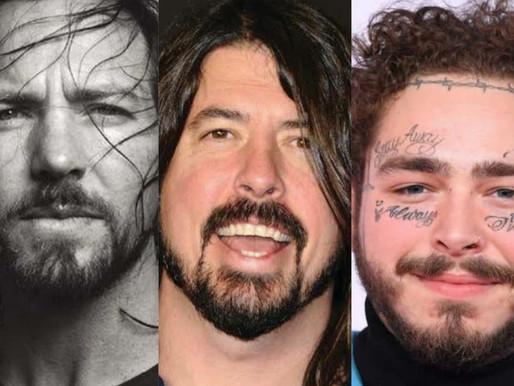 Eddie Vedder, Foo Fighters e Post Malone participam de festival virtual nesta sexta-feira