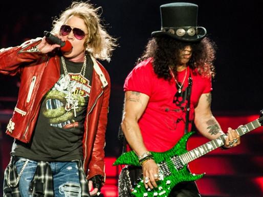 "Guns N' Roses disponibiliza vídeo ao vivo de ""Locomotive""; assista"