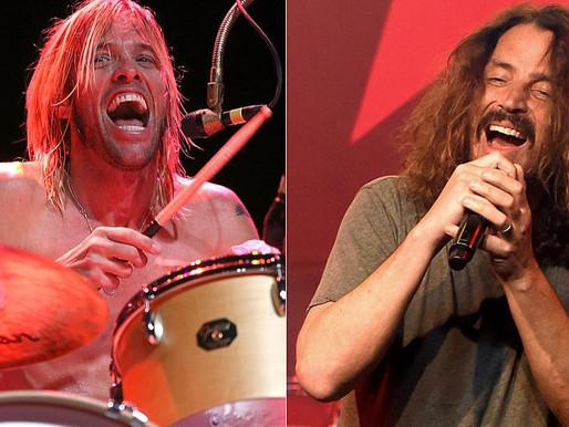 """""""Deus do Rock"""": Taylor Hawkins fala sobre sua admiração por Chris Cornell"""