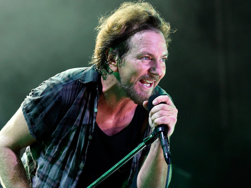 Festival com Eddie Vedder será transmitido, gratuitamente, neste fim de semana