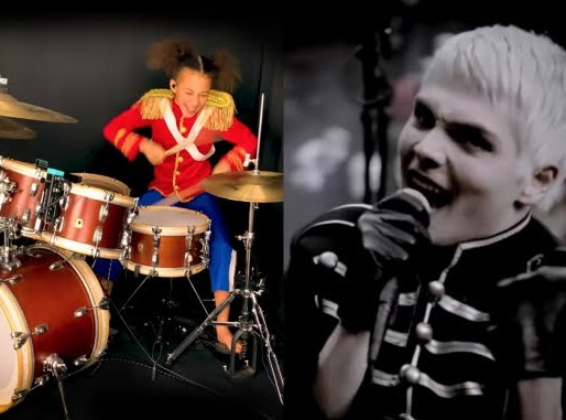 "Nandi Bushell toca ""Welcome To The Black Parade"", do My Chemical Romance; assista"