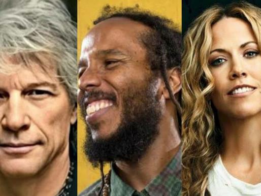 Bon Jovi, Ziggy Marley e Sheryl Crow participam de evento beneficente com transmissão no YouTube