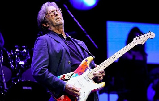 Vídeo de  Eric Clapton apresentando 'Badge', no Crossroads Guitar Festival, estreia no YouTube