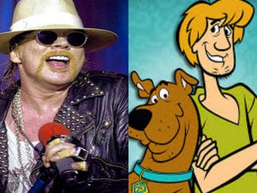 Novo episódio do Scooby Doo com participação especial de Axl Rose vai ao ar amanhã; confira
