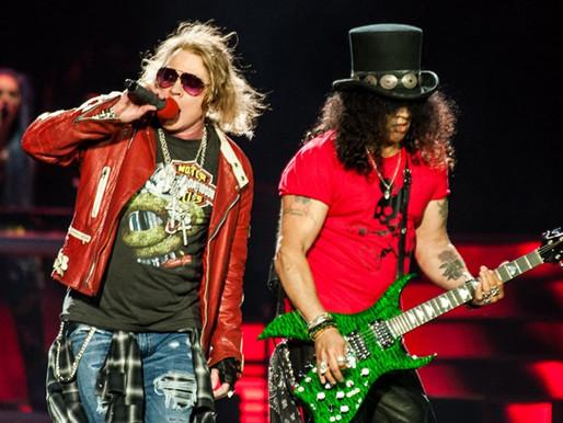 "Guns N' Roses: banda exibe show da turnê ""Not In This Lifetime"" em Brasília"