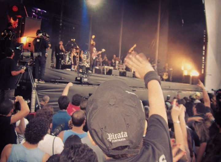 SHOW - ROCK N RIO - PALCO SUNSET