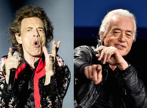 """Rolling Stones lançam a inédita """"Scarlet"""", com Jimmy Page"""