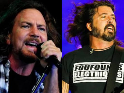 Eddie Vedder e Foo Fighters participam de live em prol da vacinação contra a Covid-19; confira