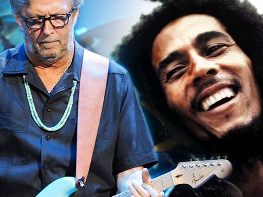 """Há 47 anos, Eric Clapton gravava sua versão para """"I Shot The Sheriff"""", de Bob Marley"""