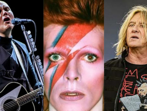 Billy Corgan, Joe Elliott e grandes nomes celebram David Bowie em evento virtual