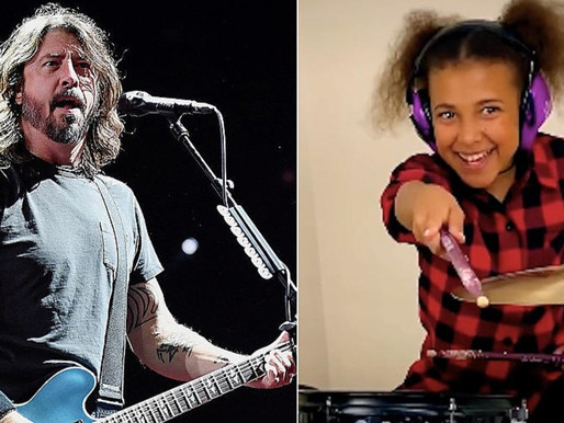 Dave Grohl compõe música para Nandi Bushell
