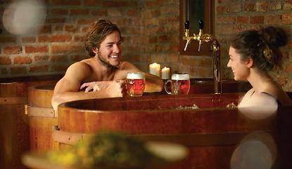 Bild på öl-spa