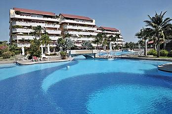 Hotell vid pool