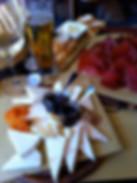 Många olika oststorter