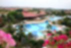 Fint poolområde