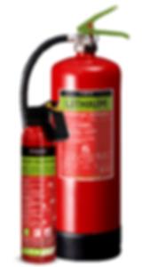 Brandsläckare för litiumbränder