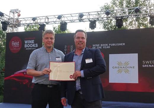 Christer Lindblom och Stefan Lindström från Grenadine bokförlag