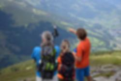 ulsikt över berg och vackert lanskap