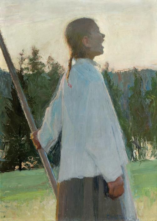Målning av Ellen Thesleff