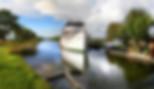 Båten Jung i Göta Kanal
