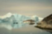 Vackra isberg