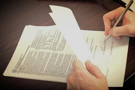 Ett kontrakt