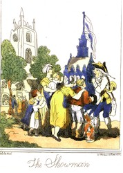 The showman, 1806