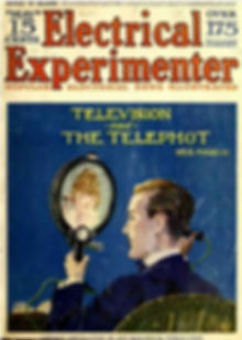 The Electrical Experimenter May 1918 cov