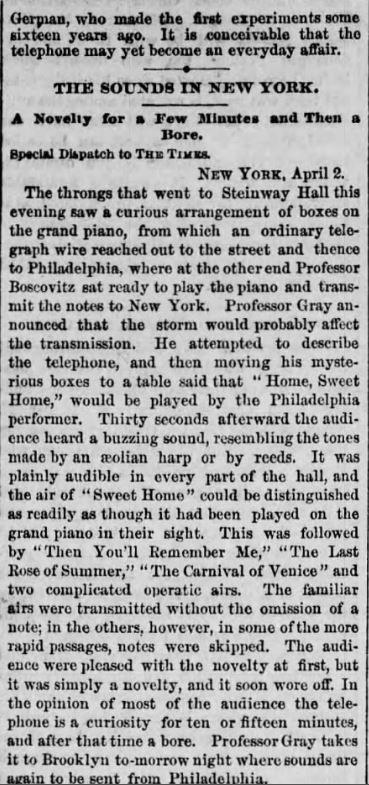 The Times (Philadelphia) 3 April 1877f.J
