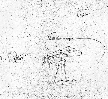 telephonoscope Edison papers.JPG